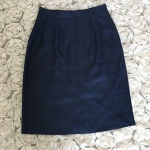 NWOT Lands End luxurious silk skirt